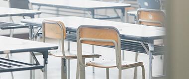 福岡市の九州英数学舘教室内の写真